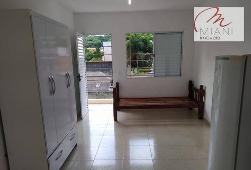 Kitnet Com 1 Dormitório Para Alugar, 17 M² - Vila Indiana - São Paulo/sp - Kn0156
