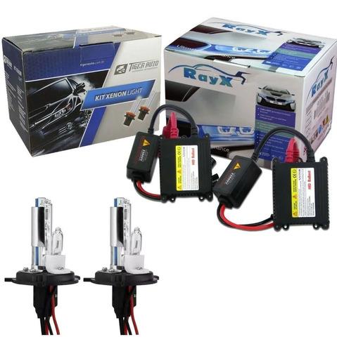 Kit Xenon H4-2 8000k Com Reator Digital Hid