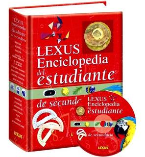 Libro Enciclopedia Del Estudiante De Secundaria + Cd