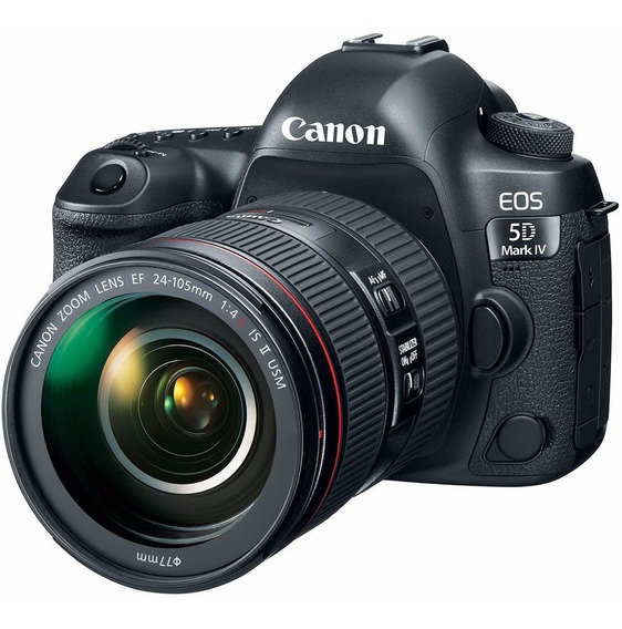 Camera Canon Eos 5d Mark Iv Lente 24-105mm F/4l Is Ii Usm