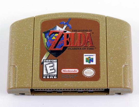 The Legend Of Zelda Ocarina Of Time Nintendo 64 Novo Salva