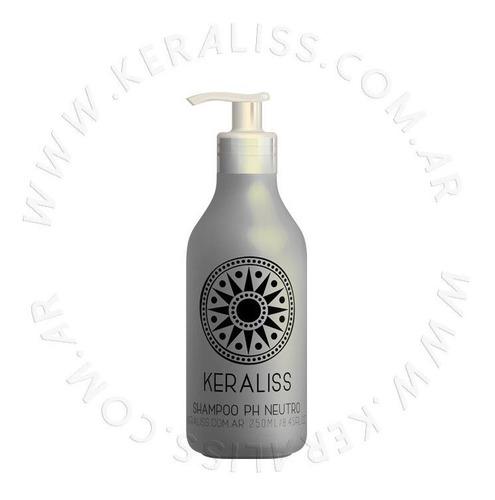 Imagen 1 de 2 de Keraliss Shampoo Ph Neutro Limpieza Profunda 250 Ml