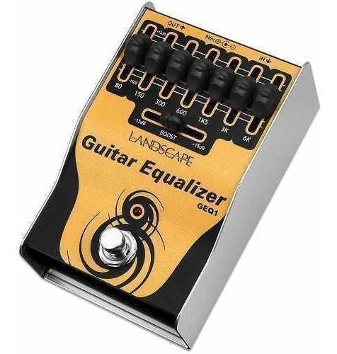 Pedal Equalizador Landscape Guitar Equalizer Geq1