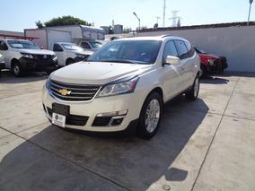 Chevrolet Traverse 3.6 Lt V6 7 Pas At 2014 Blanco Diamante