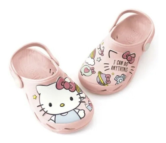 Babuche Infantil Ventor Hello Kitty Plugt