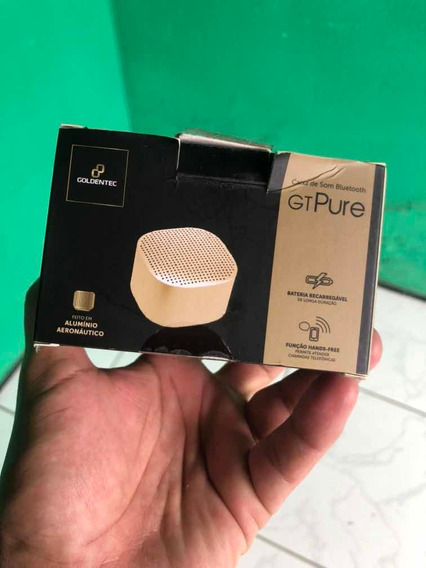 Caixa De Som Goldentec Bluetooth