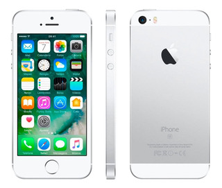 iPhone SE 16 Gb Prata Usado Funciona Tudo- Vida Bateria 84%