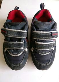 Zapatos Rockland Deportivos Talla 29 Niño Azul Y Rojo Usado