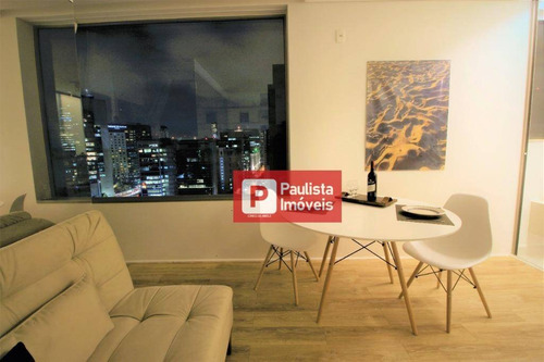 Apartamento Com 1 Dormitório Para Alugar, 35 M² - Vila Olímpia - São Paulo/sp - Ap30551