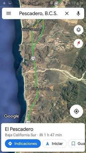 Terreno A Pie De Carretera Frente A La Salida De Cerritos
