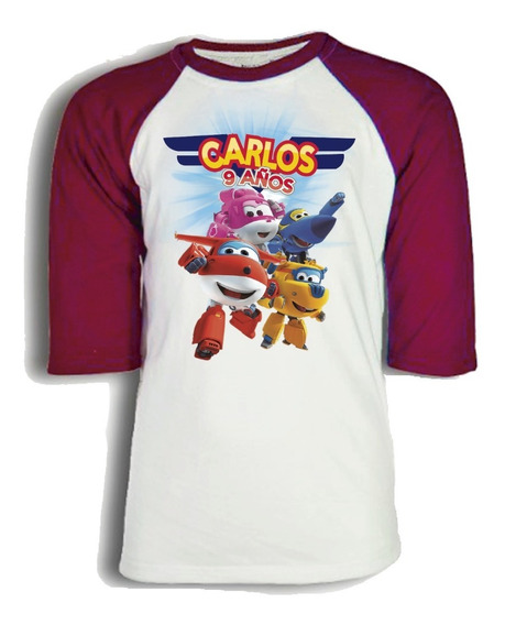 Playera Super Wings