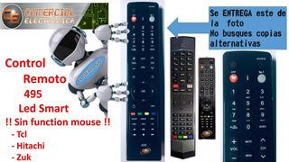 Control Remoto Para Lcd Smart Tcl Hitachi Lcd495