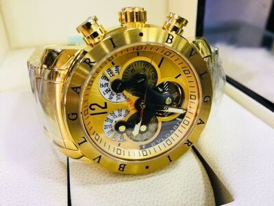 Relógio Bulgari Original + Caixa De Brinde