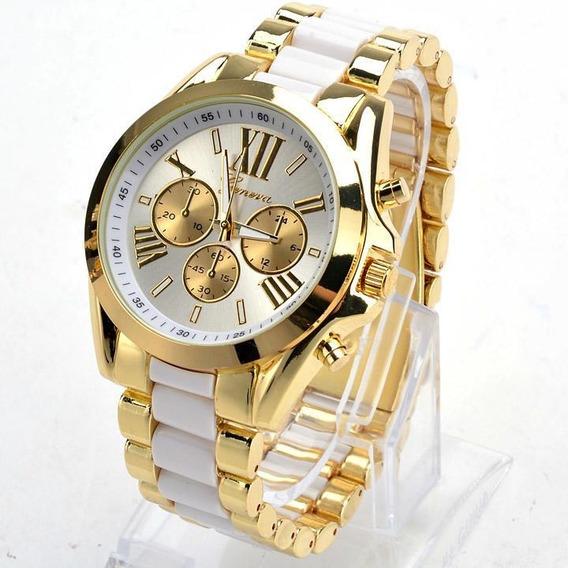 Roupa Masculina Quartzo Completo Aço Relógio Mulheres
