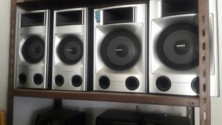 4 Parlantes Sony.sound Broad System.no Hago Envios.