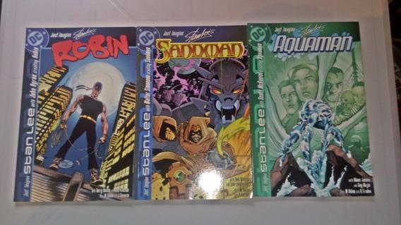 Hq Just Imagine Stan Lee Importados Aquaman,robin E Outros
