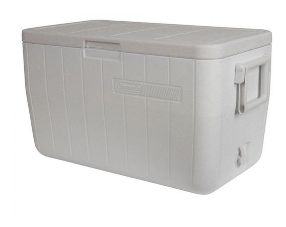 Caixa Térmica Coleman 48 Qt - 45,4l - Branco