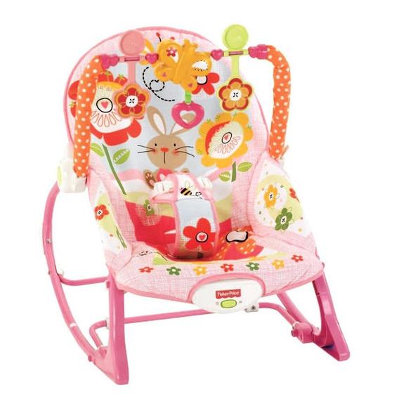 Fisher Price Cadeira De Balanco Minha Infancia Menina-mattel