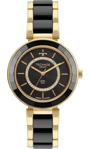 Relógio Technos Ceramic/sapphire Analógico 2036mkp/4p