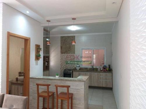 Casa Com 3 Dormitórios À Venda, 120 M² Por R$ 477.000 - Jardim Rodolfo - São José Dos Campos/sp - Ca5361