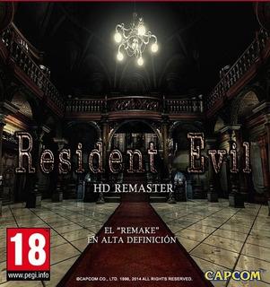 Resident Evil 1hd Remasterizado- Pc Digital