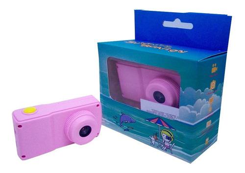 Camara Digital Fotográfica Para Niños /vídeos - Foto Rosada