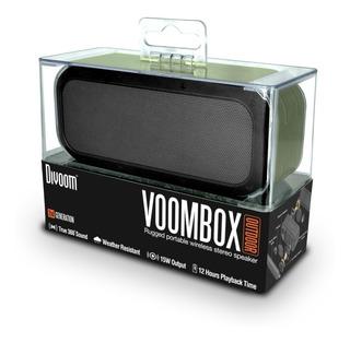 Parlante Divoom Bluetooth Stereo Resistente Al Agua Voombox