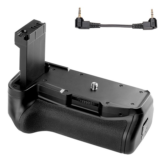 Suporte Vertical Da Bateria Para Canon Eos 800d / Rebel T7i