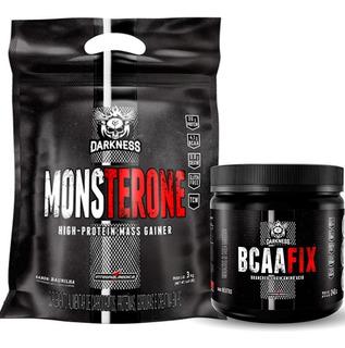 Monsterone (3kg) + Bcaa Fix Em Pó (240g) - Integralmédica