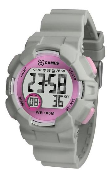 Relógio X Games Feminino Xmppd491 Bxix Esportivo Digital