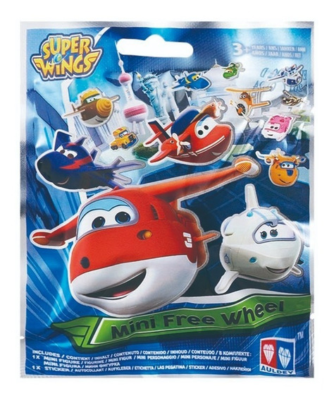 Super Wings Mini Vehiculos - Surtido De Personajes