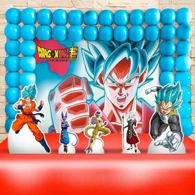 Kit Decoração De Festa Infantil - Dragon Ball,cenários