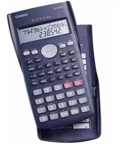 Calculadora Científica Casio Fx82 Ms