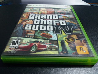 Grand Theft Auto Iv Para Xbox 360