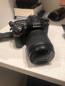 Câmera Semi-profissional Dsrl Nikon D7100