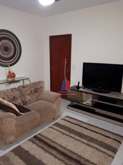 Casa Com 2 Dormitórios À Venda, 119 M² Por R$ 295.000 - Jardim Paz - Americana/sp - Ca1252