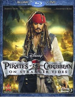 Blu-ray Pirates Of The Caribbean 4 / Piratas Del Caribe 4