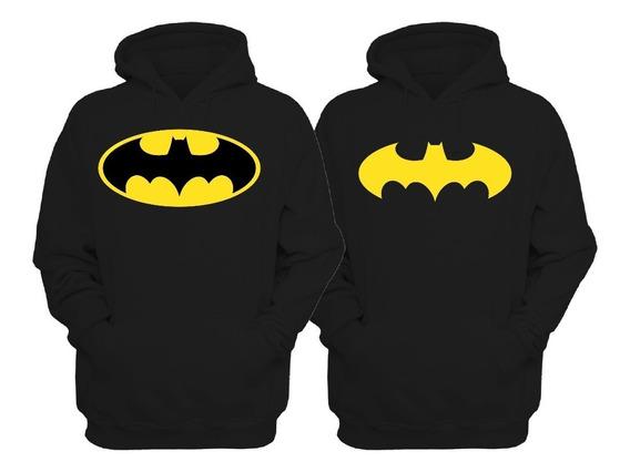 2 Sudaderas Una Batman Y Una Batichica,de Parejas Novios