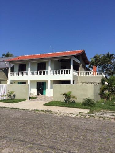 Imagem 1 de 24 de Sobrado Com 4 Quartos E Piscina No Centro De Guaratuba   Imobiliária África - So00093 - 4795599