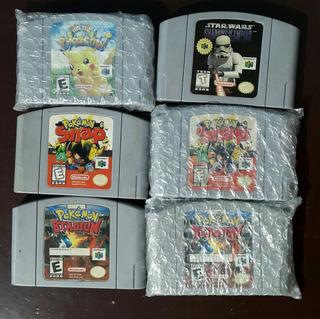 6 Juegos Nintendo 64