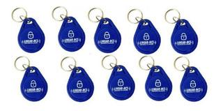 Chaveiro Linear Hcs Tags P/ Acesso Condomínio - Kit Com 10