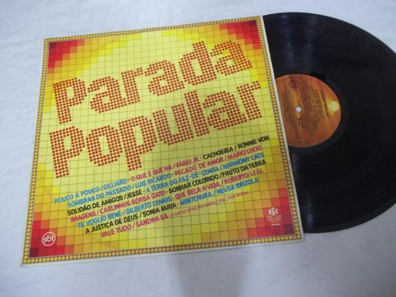 Lp Vinil - Parada Popular - Gilliard - Tim Maia E Mais