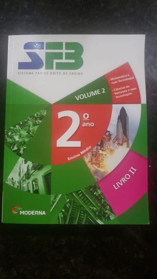 Livros Sistema Farias Brito 2 Ano Do Ensino Médio,