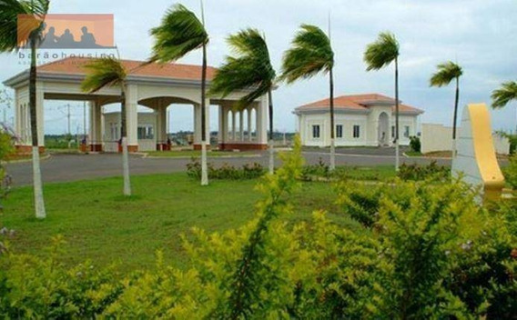 Terreno Residencial À Venda, Condomínio Terras Do Fontanário, Jardim Planalto, Paulínia. - Te0059