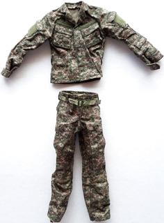 Uniforme 1/6 Toys City Hot Toys Gi Joe Dragon Soldier Story