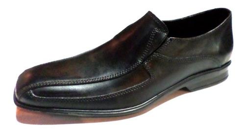 Imagen 1 de 3 de Zapato Punta Fina Sin Cordon Suela Febo (2500)