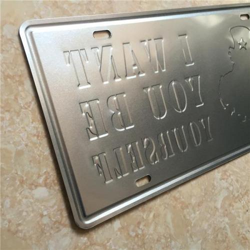 shabby chic decoraci/ón de bar restaurante oficina Cartel de metal con dise/ño de Mercedes Benz Ben 669 Gemrmany de 15 x 30 cm para pared cl/ásico regalo