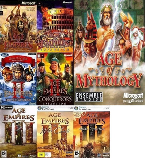 Saga Completa Age Of Empires (1,2,3+ Age Of Mitology)