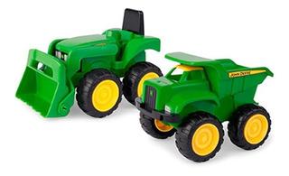 Brinquedo Peg-pérego Escavadeira E Caçamba John Deere 35874