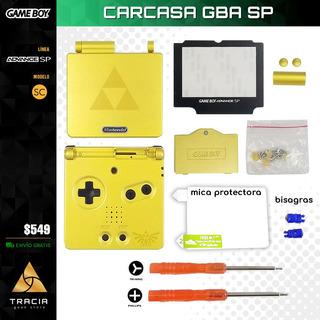 [ Carcasa Gba Sp ] Kit Completo Ediciones Especiales Tracia